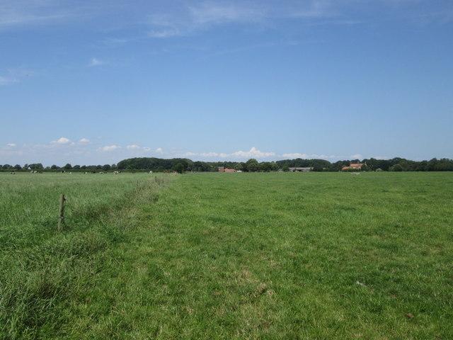 Footpath between Burn Hall and Moss End Farm