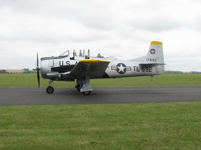 T-28S Fennec at Duxford