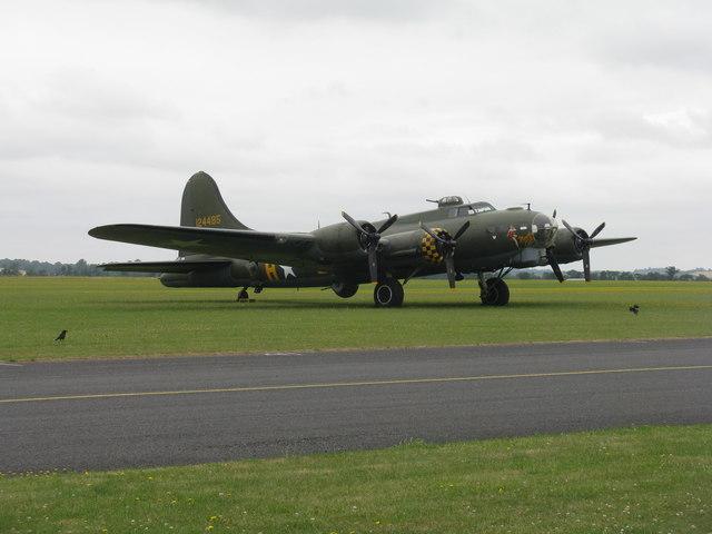 'Sally B' B-17 Flying Fortress at Duxford