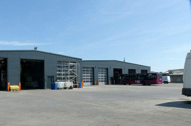 Bus depot, Heanor Gate Industrial Estate