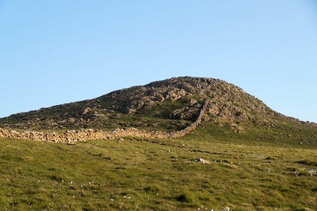 Muckle Heog from the north