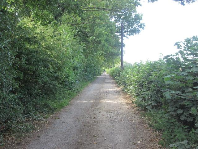 Lane to Stackhouse Farm