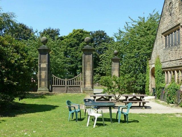 Derby Lodge gates, Shipley Park
