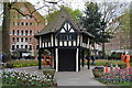TQ2981 : Central toolshed, Soho Square by N Chadwick