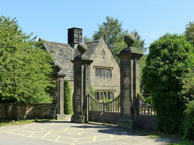 Derby Lodge and gates, Shipley Park