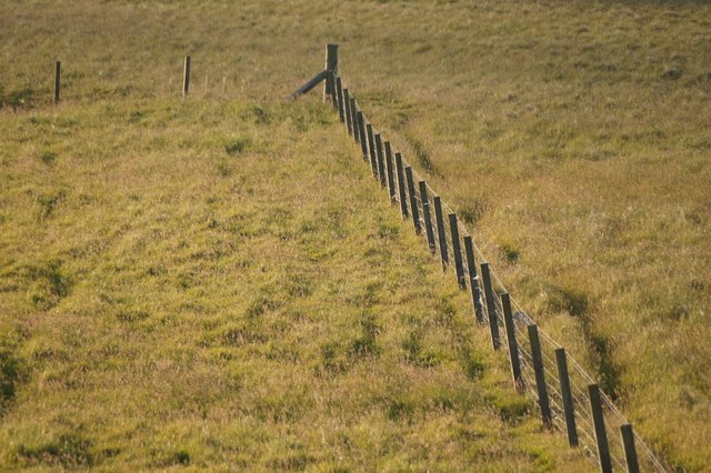 Fence at the Links of Burrafirth