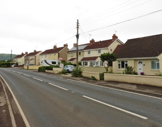 Row of houses at Redlands