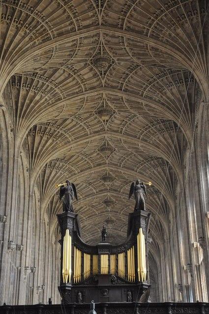 Fan vaulting, King's College Chapel