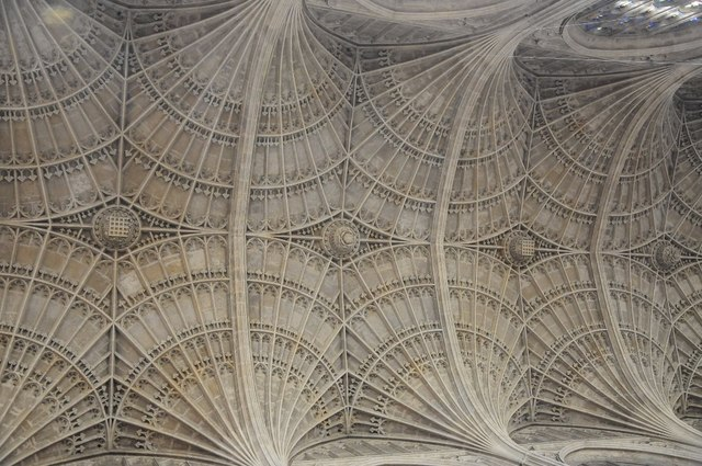 Fan vaulting, King's College Chapel