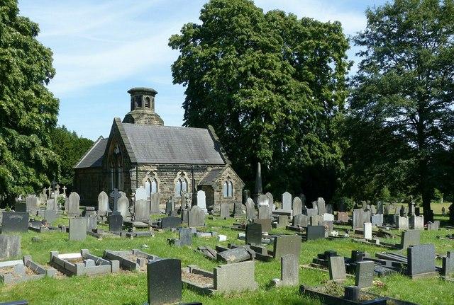 Cemetery chapels, Heanor Cemetery