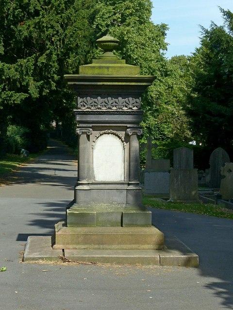Donovan memorial, Heanor Cemetery