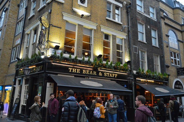 The Bear & Staff