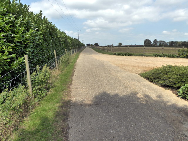 Access Road to Beth Chatto Gardens