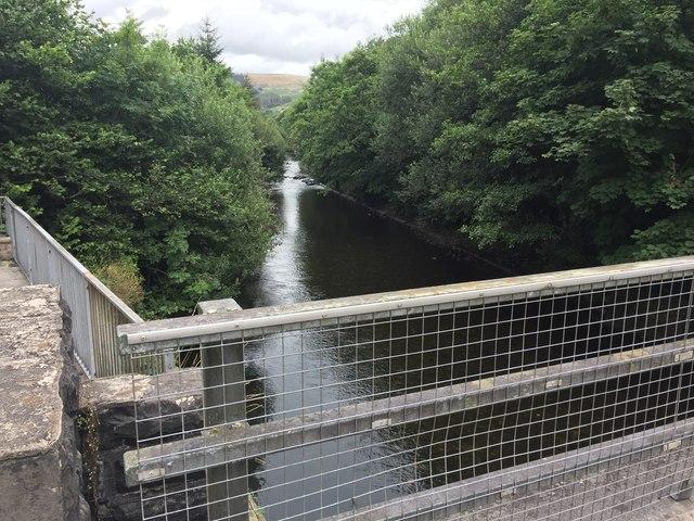 Afon Afan, Cwmafan