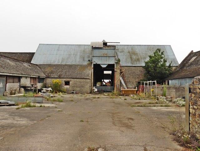 Farmyard at Lower Hill