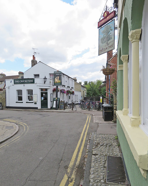 Cambridge: two pubs