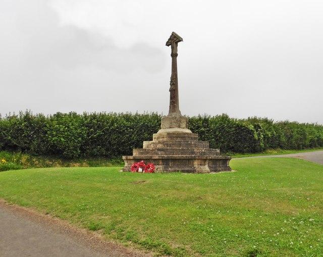War Memorial at Butleigh Cross