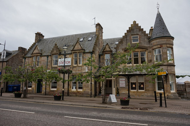 Station Hotel, High Street, Alness