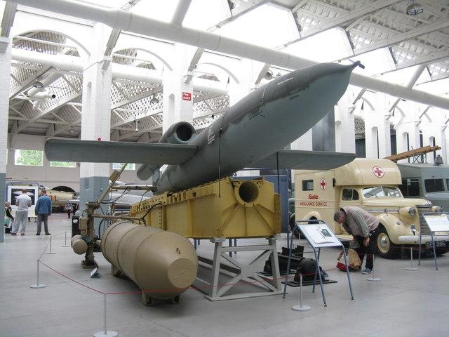 V-1 flying bomb at Duxford