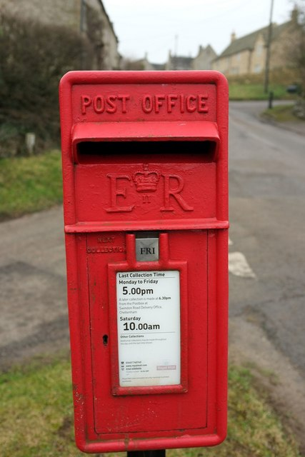 Postbox, Great Rissington