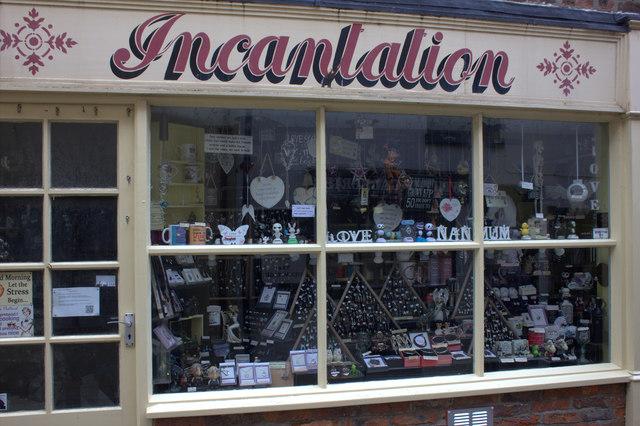 Whitby. Incantation shop