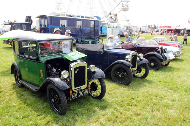 Vintage Vehicles at the Royal Cheshire County Show