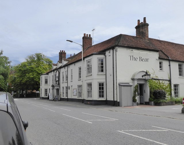 The Bear Hotel, Hungerford, on the old Bath Road