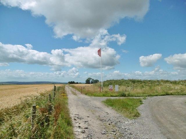 Westbury, red flag