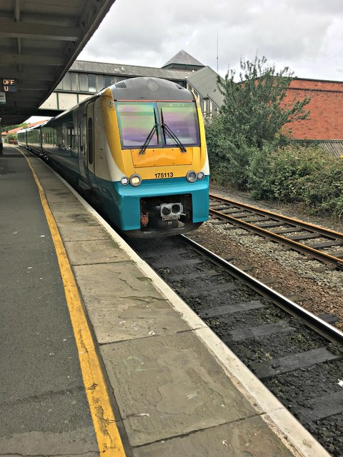 10.53 Arriva train to Manchester