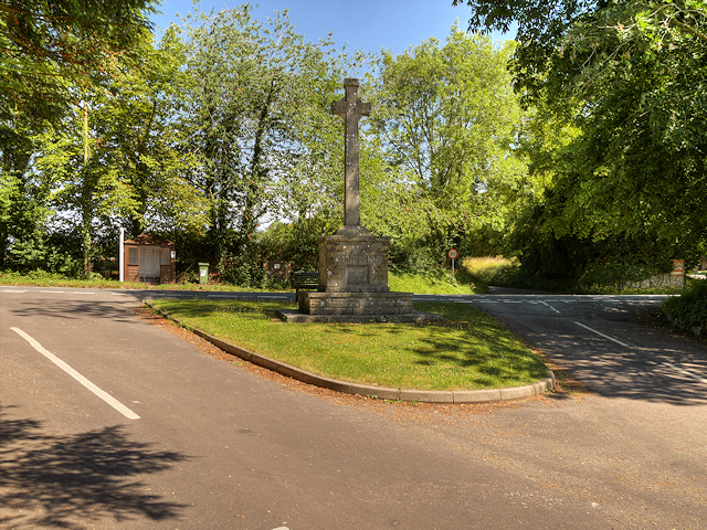The War Memorial at Martyr Worthy