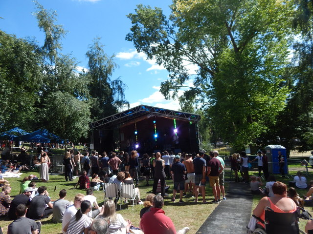 Christchurch Park music day 2017