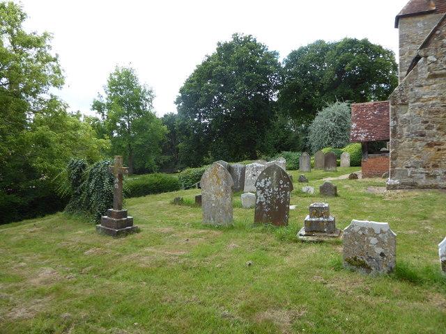 St Michael, Penhurst: churchyard (e)