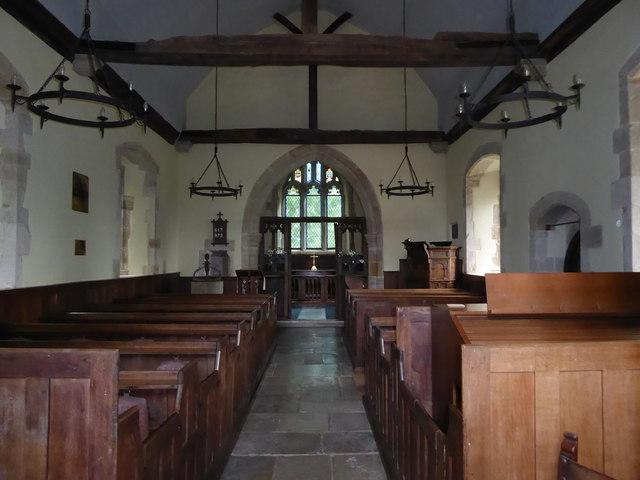 Inside St Michael, Penhurst (c)