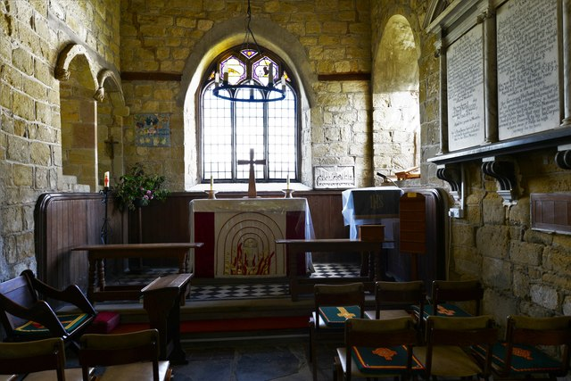 Abberley, St. Michael's Old Church: The chancel