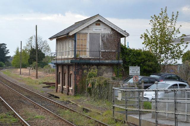 Thetford Signalbox