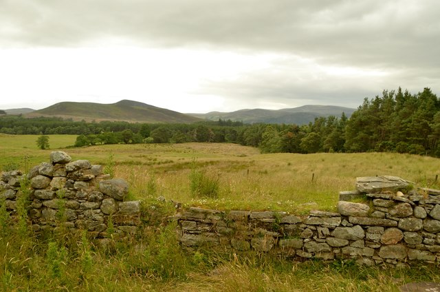 Ruins of old Farmstead near Badninish, Sutherland