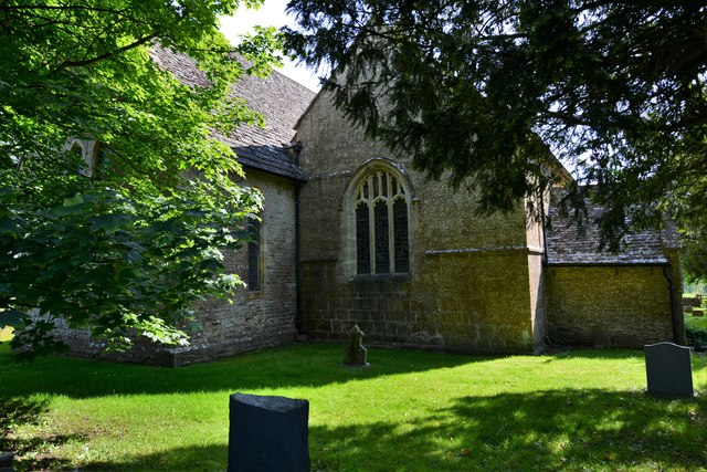 Lower Swell, St. Mary's Church: Western aspect