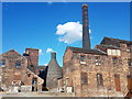 SJ8649 : Bottle Kiln at Middleport Pottery by Brian Deegan