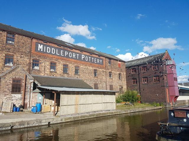 Middleport Pottery, Burslem