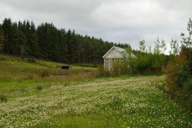 Old Glasshouse at Badninish, Sutherland