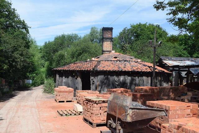 Brick kiln at the Bulmer Brick and Tile Company