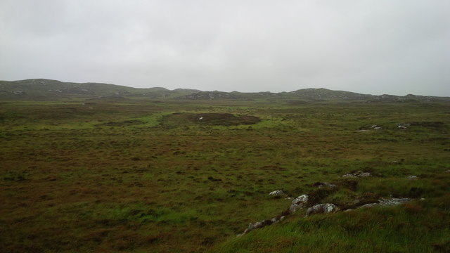 Moorland on the east end of Coll