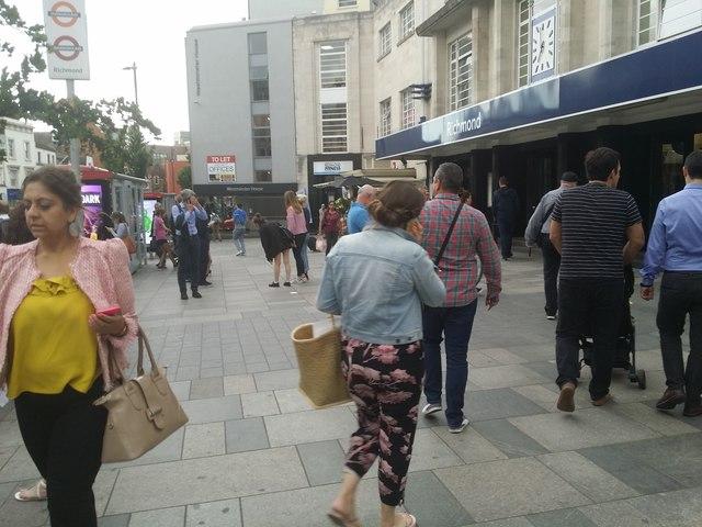 Richmond Station forecourt