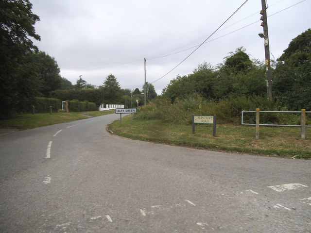 Mancroft Road, Aley Green
