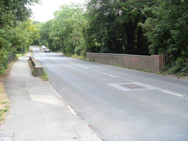 Road over former railway [5]
