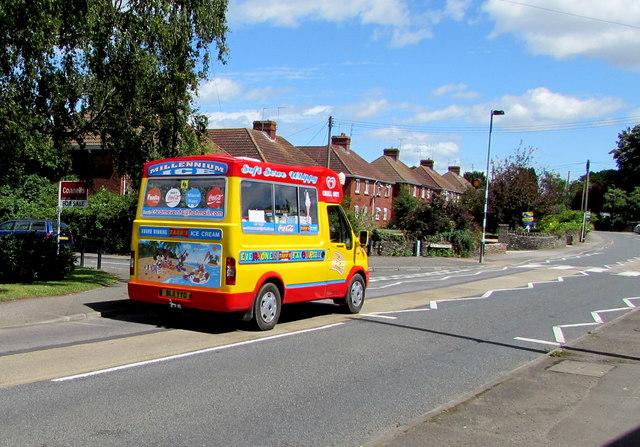 Ice cream van in Westerleigh