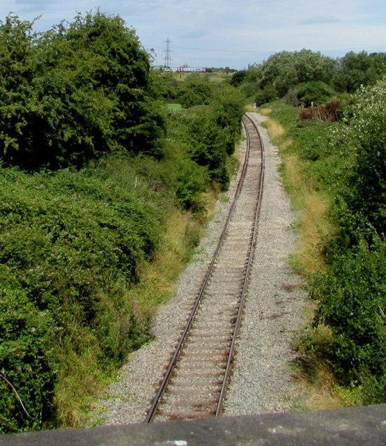 Railway from Westerleigh towards Yate