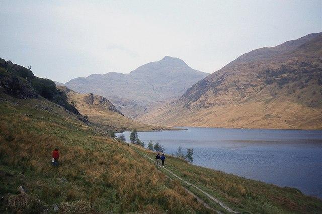 Loch an Dubh-Lochain, Knoydart