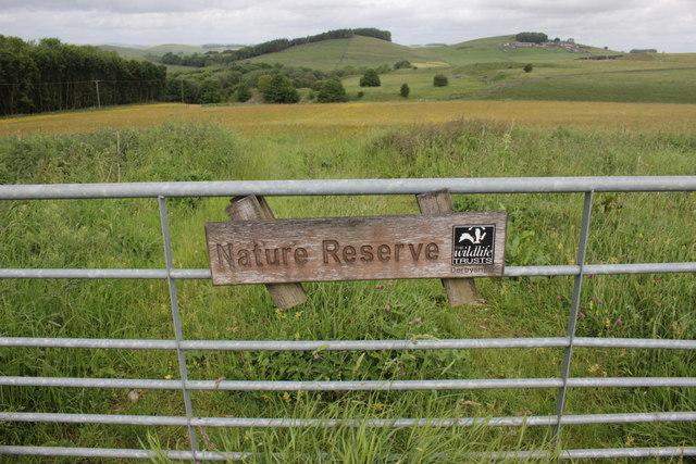 Gateway to Hartington Meadows Nature Reserve