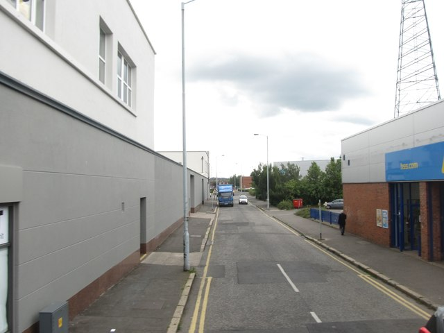 East Bread Street, off Upper Newtownards Road